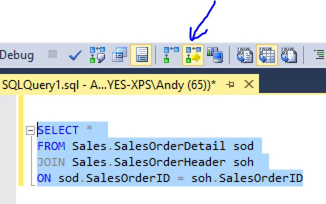 enable sql server 2016 new features live query statistics