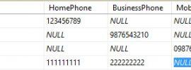 SQL COALESCE example