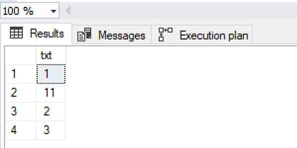 sql convert string to int